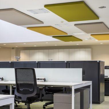 Pannelli acustici uffici Siemens