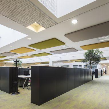 Pannelli fonoassorbenti soffitto Siemens