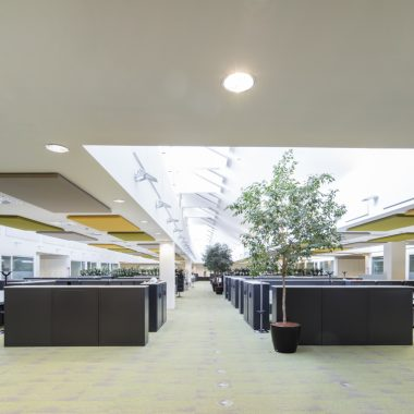 Pannelli fonoassorbenti uffici Siemens