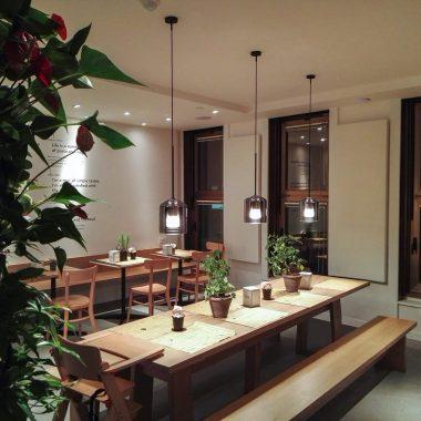 Caruso Acoustic Bottega Portici pannelli fonoassorbenti parete