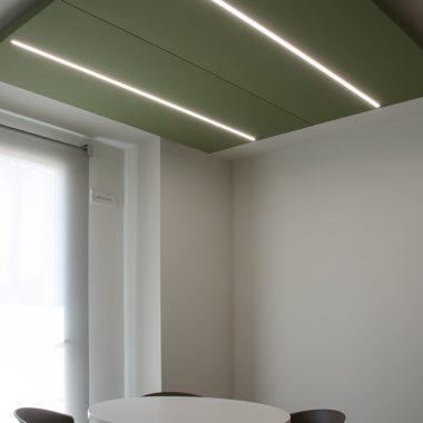 Installazione pannelli fonoassorbenti Caruso acoustic – Faces 07