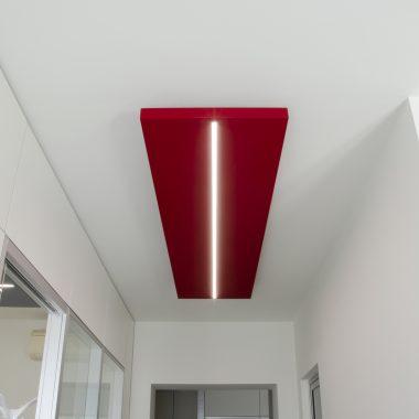 Installazione pannelli fonoassorbenti Caruso acoustic – Faces 08