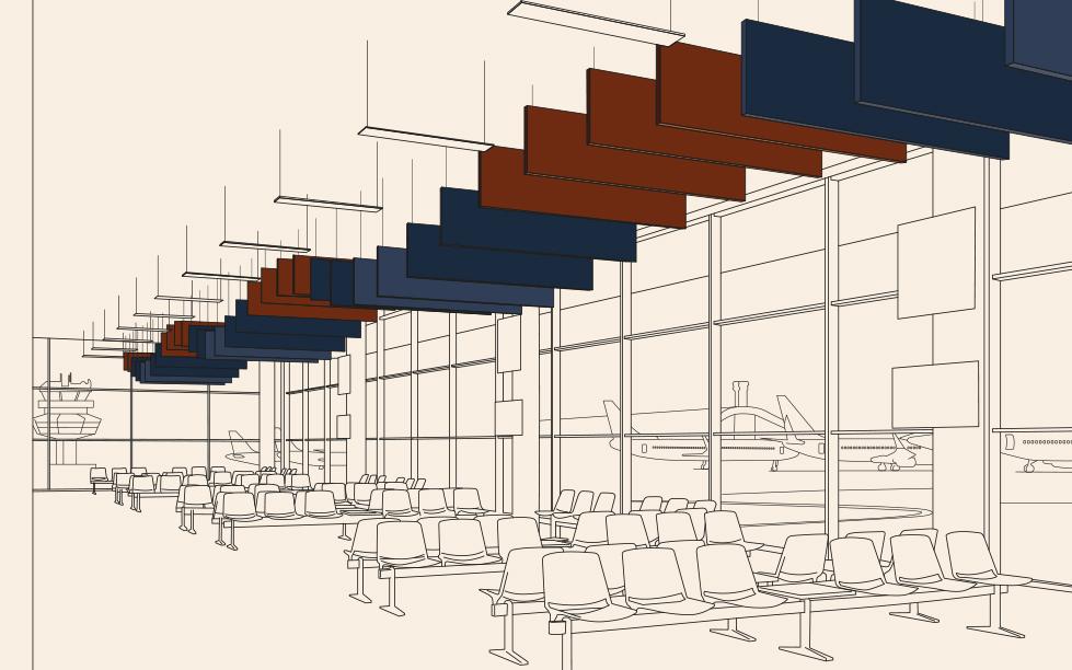 Trattamento Acustico Aeroporto Case Study