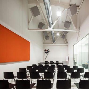 Pannelli fonoassorbeeenti Caruso Acoustic Sina Spa 4