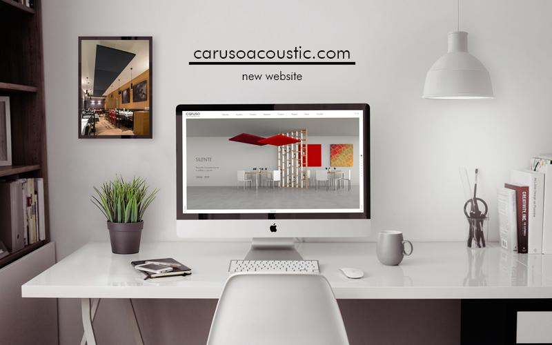 È online il nuovo sito carusoacoustic.com