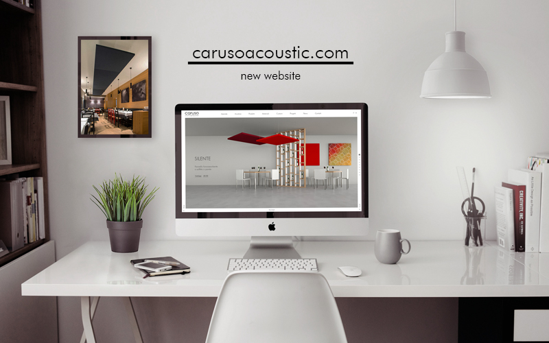 New website Caruso Acoustic