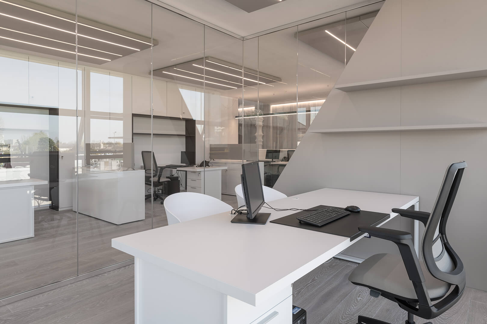 Caruso Acoustic Products For An Open Space Office Treviso Italy Caruso Acoustic
